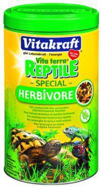 Vitakraft Vita terra Reptile Special Herbivore - pokarm dla żółwi lądowych i innych gadów roślinożernych 250ml
