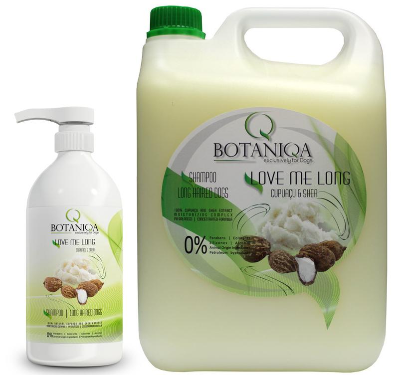 Botaniqa Love Me Long Cupuaçu and Shea Shampoo - szampon dla psów długowłosych 250ml, 1l lub 5l