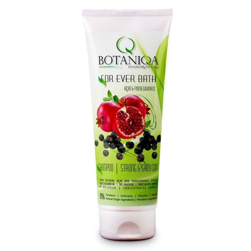 Botaniqa For Ever Bath Açaí and Pomegranate Shampoo - szampon do każdego rodzaju szaty z wyciągiem z nasion Açaí i granatu 0,25l