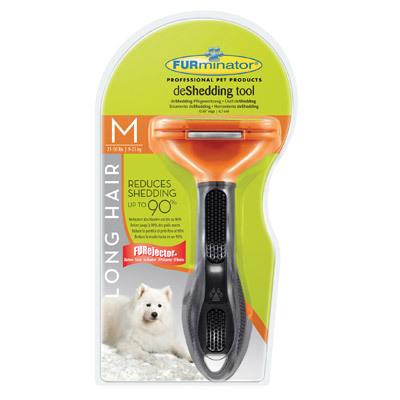 FURminator Long Hair Medium- przyrząd do usuwania podszerstka u psów długowłosych ras średnich ZOBACZ FILM!