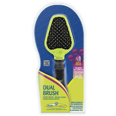 FURminator Dual Brush- szczotka dwustronna dla psa ZOBACZ FILM!