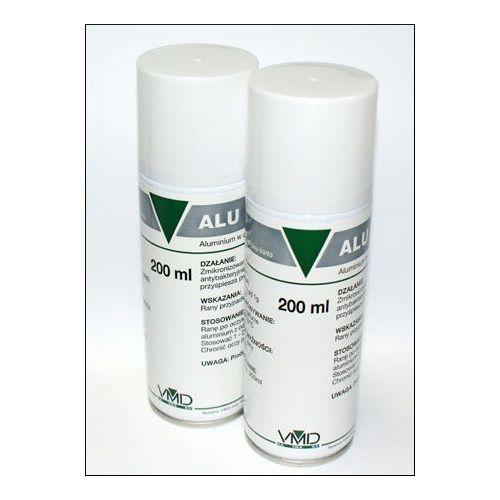 VMD Alu Spray- aluminium w areozolu, przyśpiesza gojenie się ran psów i kotów 200ml