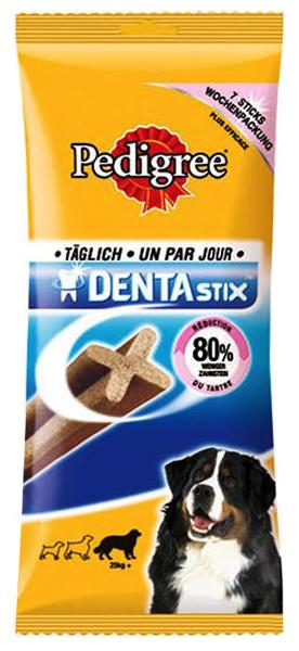 Pedigree Denta Stix DUŻE RASY - patyczki czyszczące zęby, 7sztuk dla psów powyżej 25kg