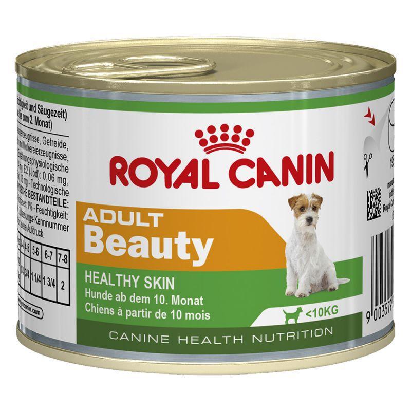 ROYAL CANIN Beauty - mokra karma dla psów ras małych na skórę i sierść, puszka 195g