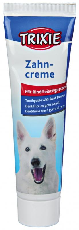 TRIXIE - Pasta do zębów dla psów o smaku wołowiny, 100g