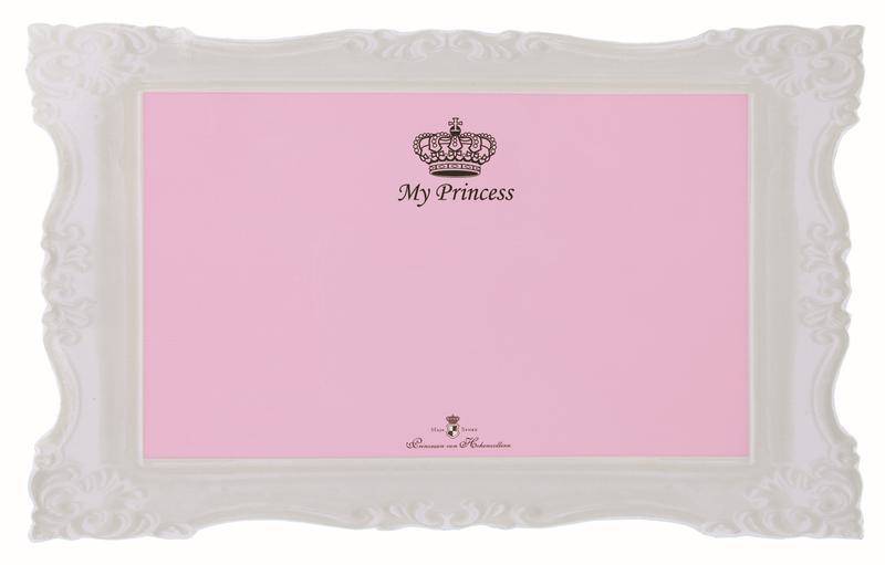 """Trixie My Princess- podkładka pod miski dla psiej lub kociej """"księżniczki"""" projektu Maji von Hohenzollern"""
