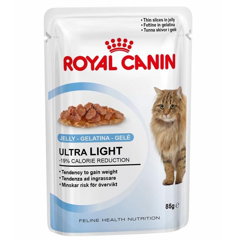 ROYAL CANIN Ultra Light - karma dla kotów z nadwagą w galaretce 85g