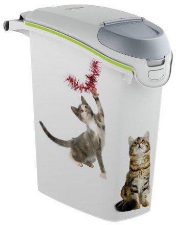 Curver Petlife Kot- praktyczny pojemnik na suchą karmę lub żwirek dla kota 10kg