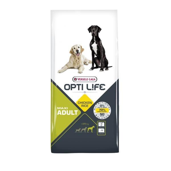 VERSELE LAGA Opti Life Adult Maxi - pełnowartościowa karma dla dużych ras psów 12,5kg