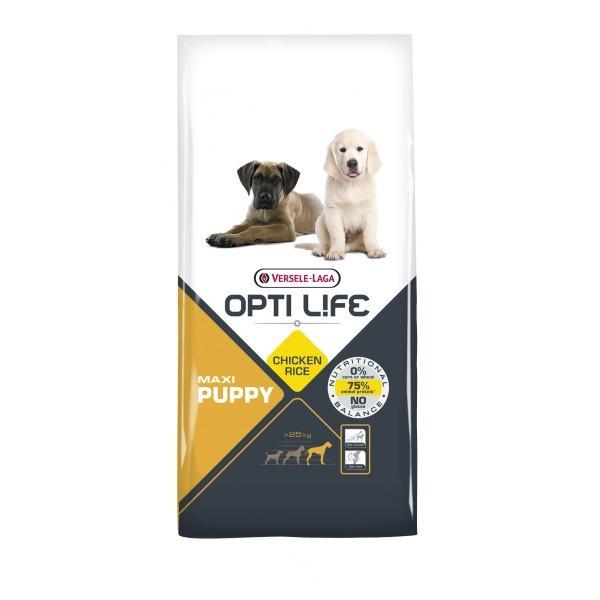 VERSELE LAGA Opti Life Puppy Maxi - pełnowartościowa karma dla szczeniąt ras dużych i olbrzymich 12,5kg