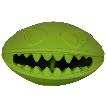 JOLLY PETS Monster Mouth – potworna zabawka dla psa, zielona