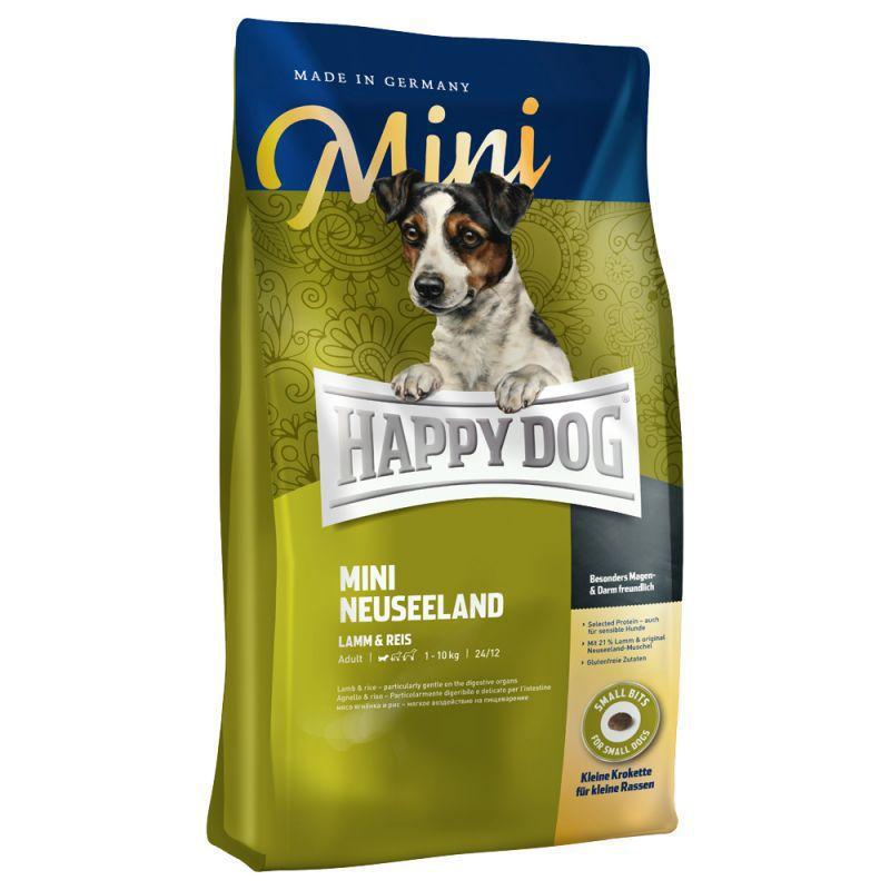 happy dog mini neuseeland sucha karma dla ps w ma ej rasy na jagni cinie dla ps w. Black Bedroom Furniture Sets. Home Design Ideas