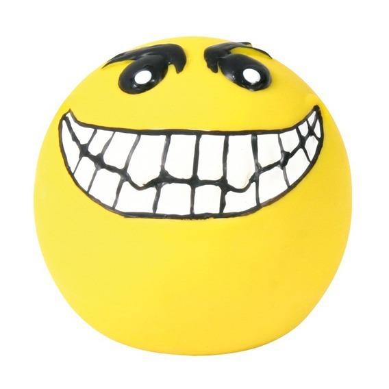 TRIXIE Smileys Ball - piłka lateksowa, piszcząca, 6cm