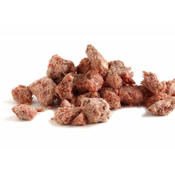 As-Pol Wołowina z kością, łososiem, warzywami i owocami - pełnoporcjowa karma dla psa, 1kg