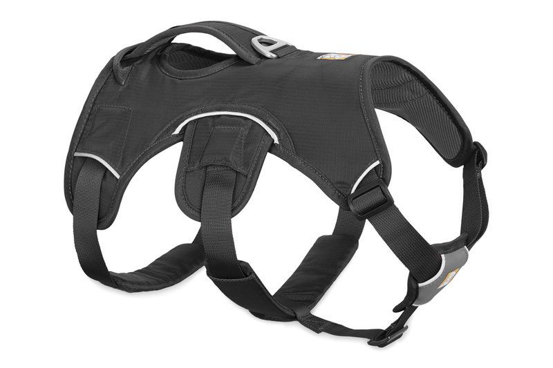 RUFFWEAR Web Master Harness Grey - Uprząż sportowo-trekingowa dla psa