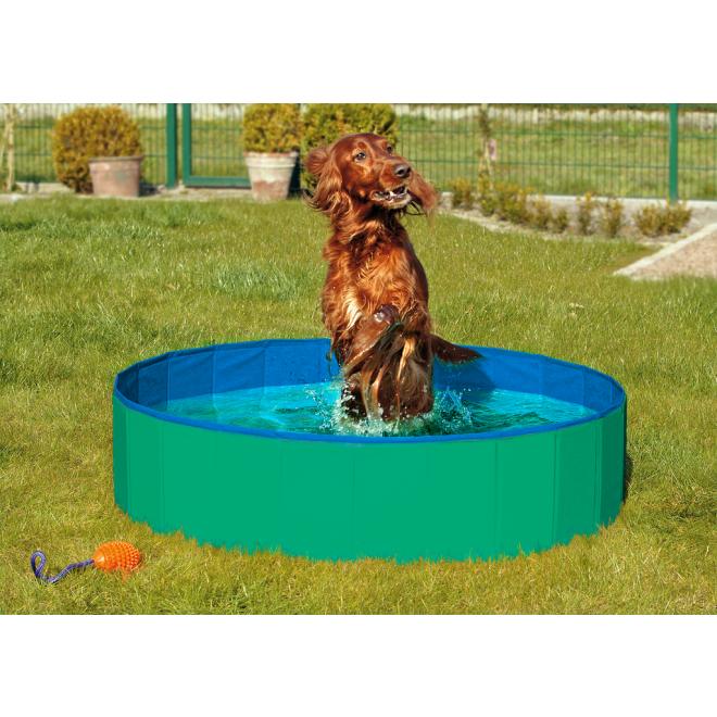 Karlie Doggy Pool - basen dla psa, odporny na psie pazury IDEALNY NA LATO! Zielony