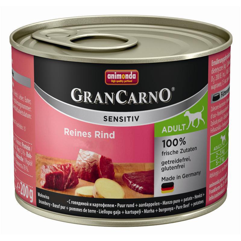 ANIMONDA GranCarno Adult Sensitiv Wołowina - karma hipoalergiczna dla psa
