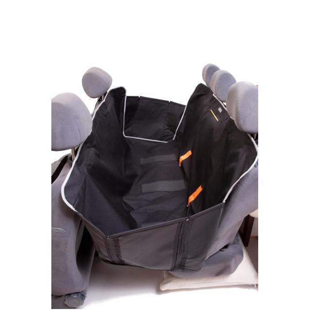 Kardiff Anti Slip - ochronna mata samochodowa na tylne fotele, czarna