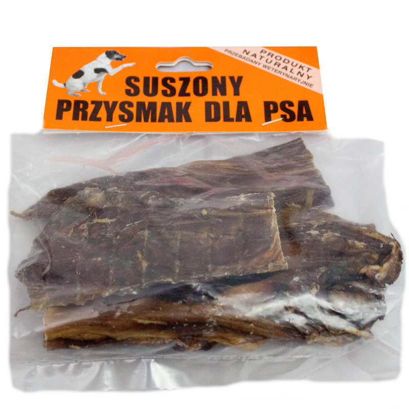 Japi suszone mięso wołowe - przysmak dla psa, 100g