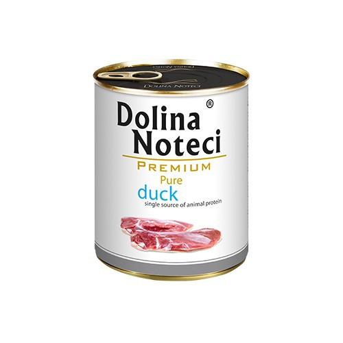 DOLINA NOTECI Pure Kaczka - mokra karma dla psów dorosłych, 400g lub 800 g