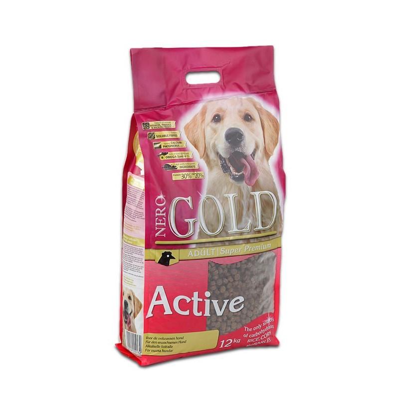Nero Gold Active - karma dla psów dorosłych sportowych, aktywnych oraz pracujących 12KG
