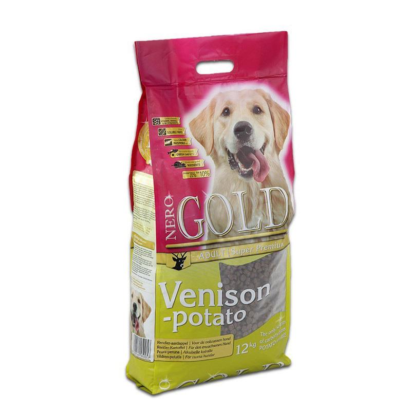 Nero Gold Venison & Potato - Karma dla psów dorosłych, sarna z ziemniakami