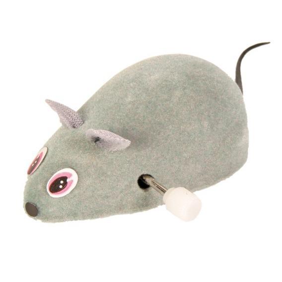 Riga myszka nakręcana-zabawka dla kota
