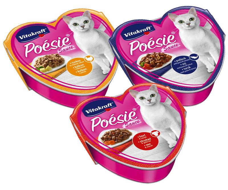 VITAKRAFT POÉSIE - SOS - mokra karma dla kota, szalka 85g