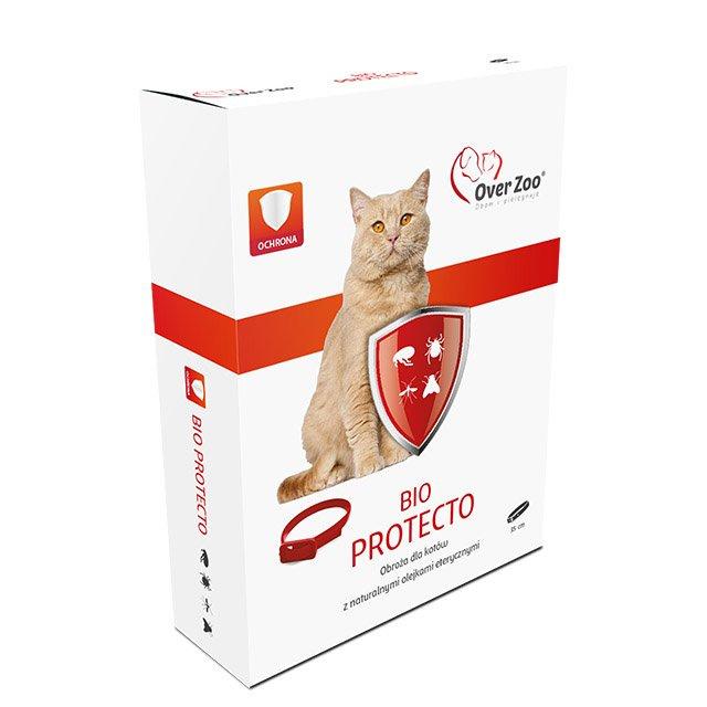 OVER ZOO Obroża BIO PROTECTO dla kotów