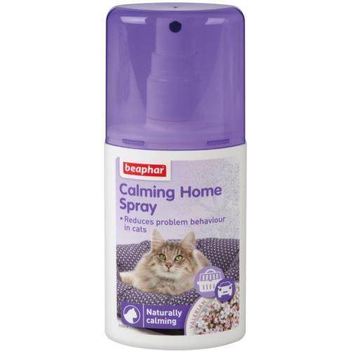 BEAPHAR CALMING HOME SPRAY - spray relaksujący dla kotów, 125 ml