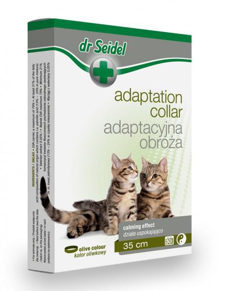 DR SEIDEL - Obroża adaptacyjna dla kotów, 35 cm