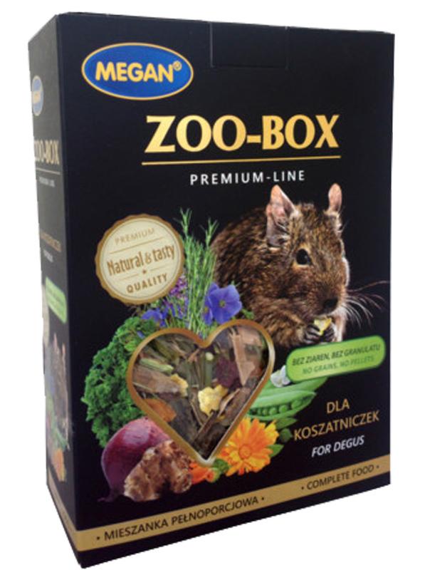 MEGAN ZOO–BOX Premium Line, mieszanka dla koszatniczek, 500g