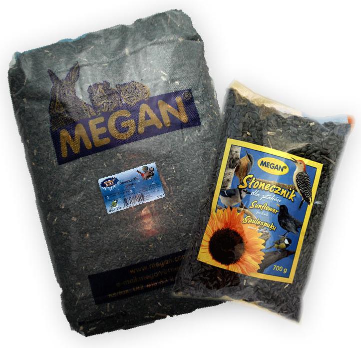 MEGAN - karma dla ptaków - ziarna słonecznika
