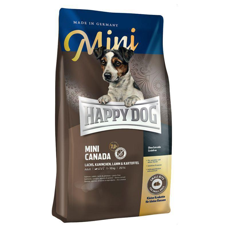 HAPPY DOG MINI CANADA - Bezzbożowa karma dla wrażliwych psów