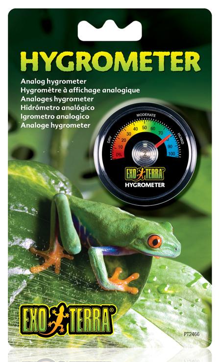 EXO TERRA - Higrometr Analogowy - wilgotnościomierz