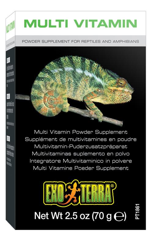 EXO TERRA Multi Vitamin - witaminy dla gadów i płazów, 70g