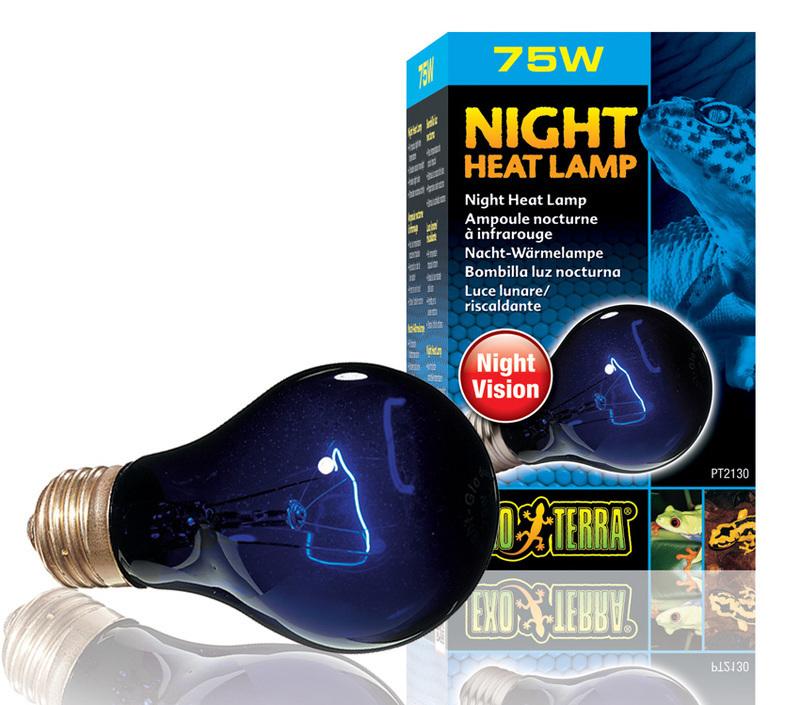 EXO TERRA Night Heat Lamp - Żarówka ze światłem księżyca
