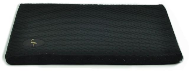 LAUREN - DEMI - Legowisko dla psa lub kota, kolor czarny, 100x80cm