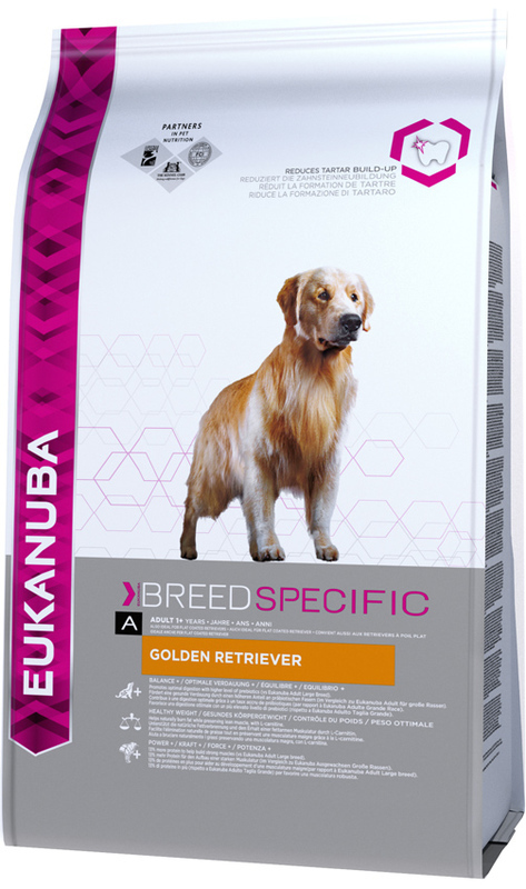 EUKANUBA BREED SPECIFIC GOLDEN RETRIEVER - Karma dla psów rasy golden retriever, 12kg