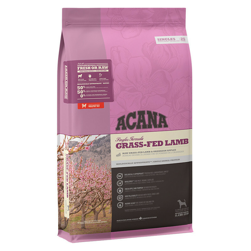 ACANA GRASS-FED LAMB - Sucha karma z jagnięciną
