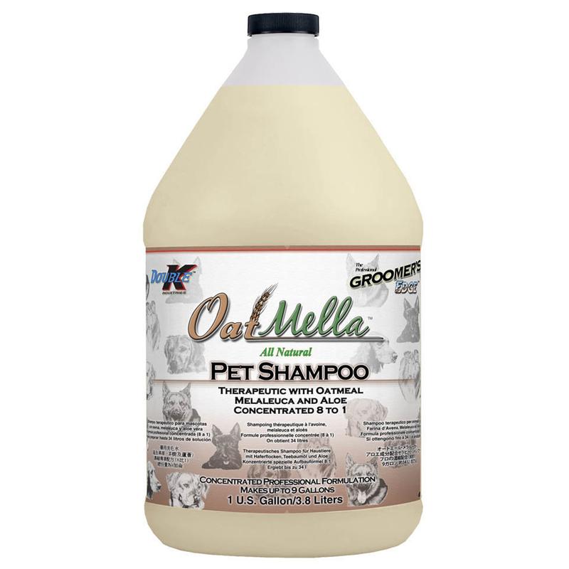 DOUBLE K OATMELLA - szampon leczniczy owsiany 3,8l