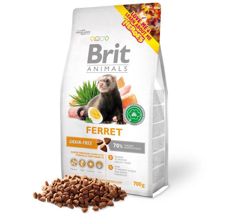 BRIT ANIMALS FERRET 700g - Pokarm dla fretki