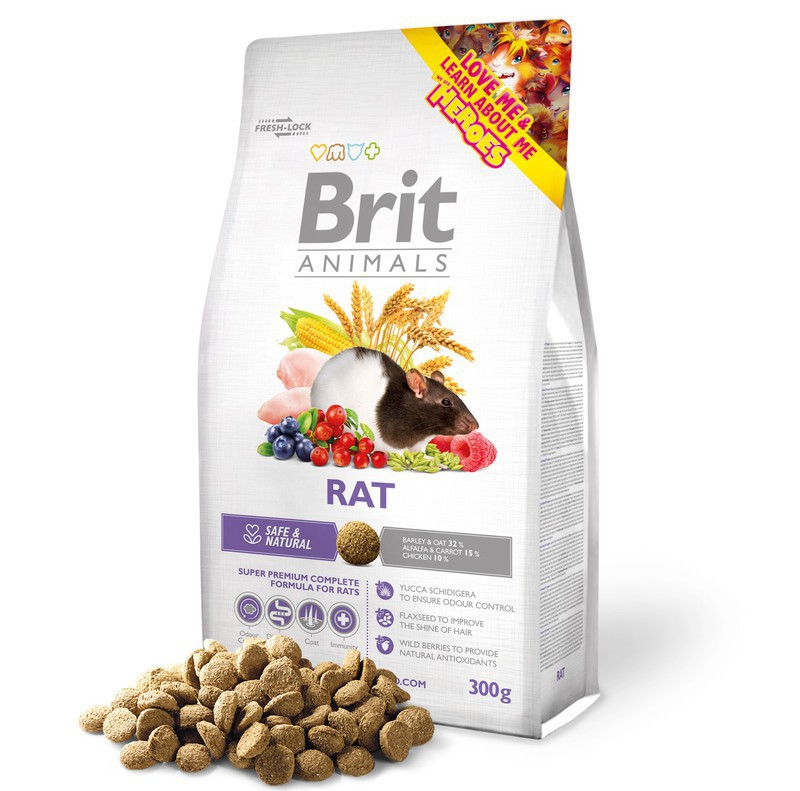BRIT ANIMALS RAT COMPLETE - Karma dla szczura.