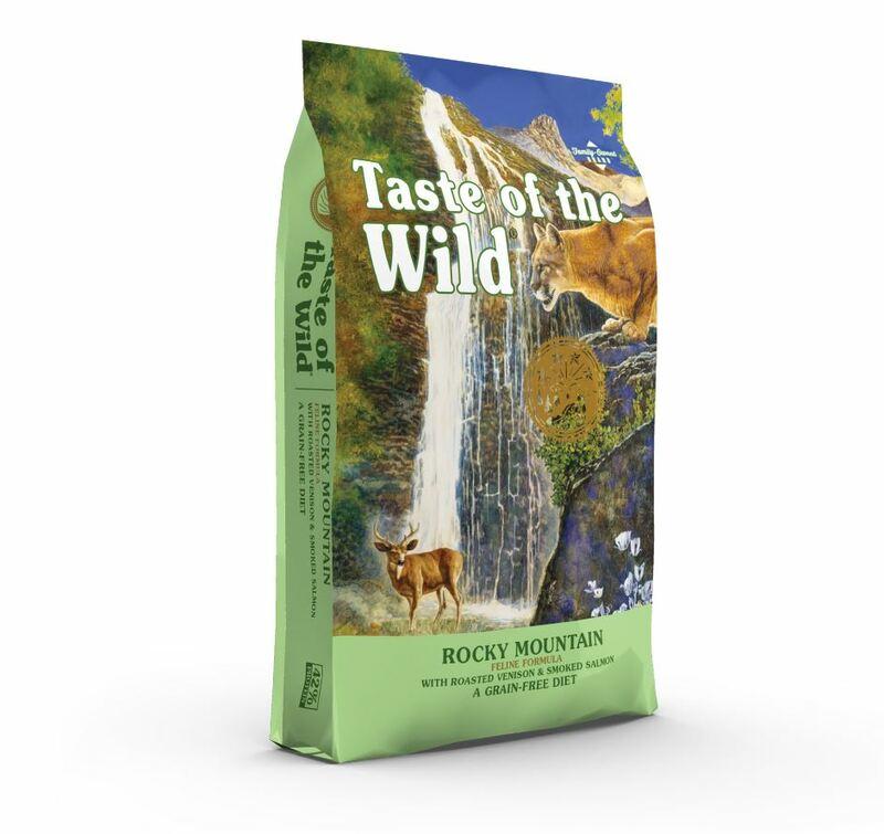 TASTE OF THE WILD Rocky Mountain Feline - bezzbożowa karma dla kotów wszystkich ras