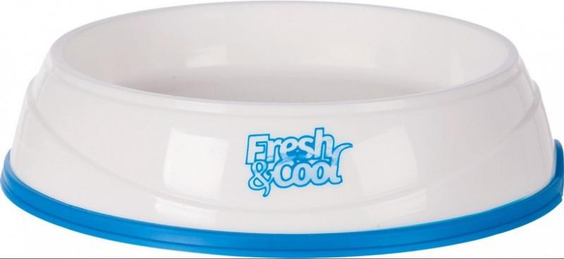 TRIXIE Fresh & Cool - miska chłodząca wodę i jedzenie 0,25L