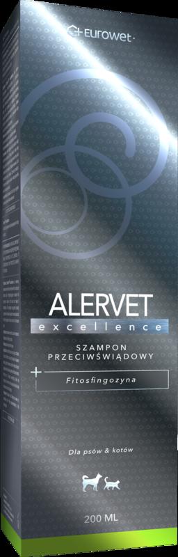 EUROWET Alervet Excellence - Szampon przeciwświądowy z fitosfingozyną dla psów i kotów 200ml