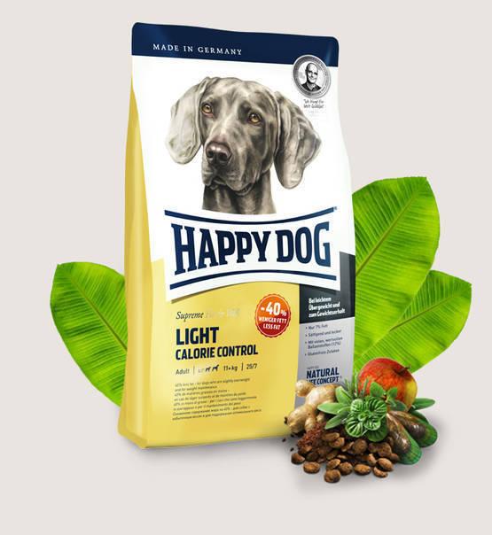 HAPPY DOG Supreme Fit&Well Light Calorie Control - sucha karma dla psów ze skłonnością do nadwagi