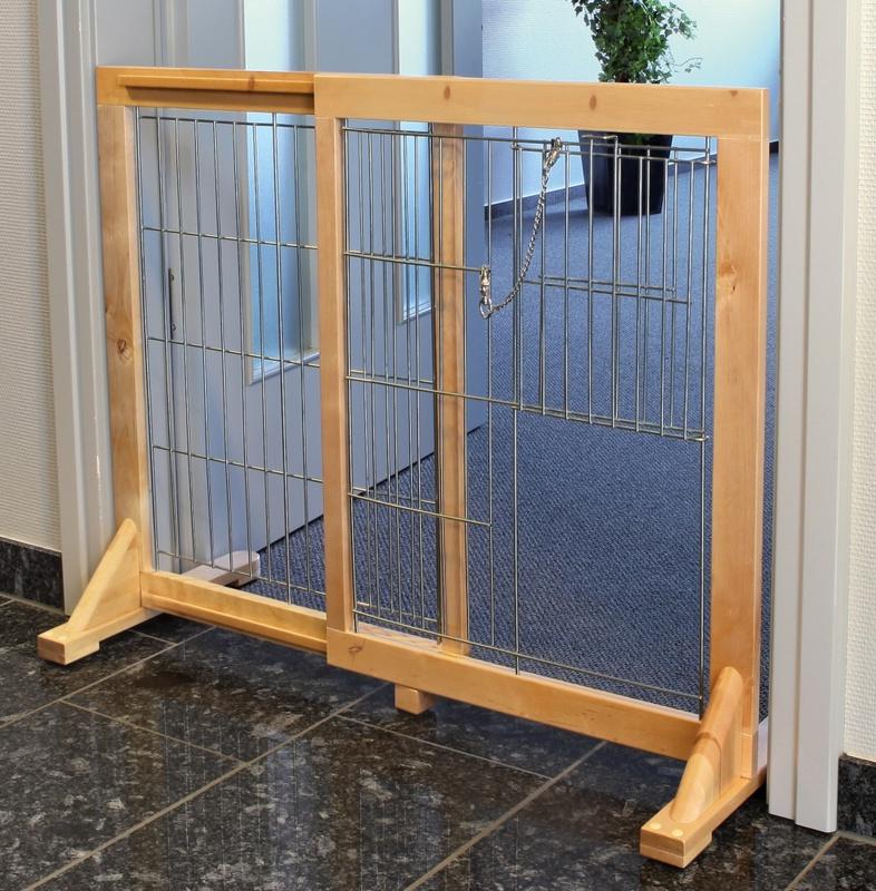 TRIXIE Drewniano metalowa barierka dla dużych psów