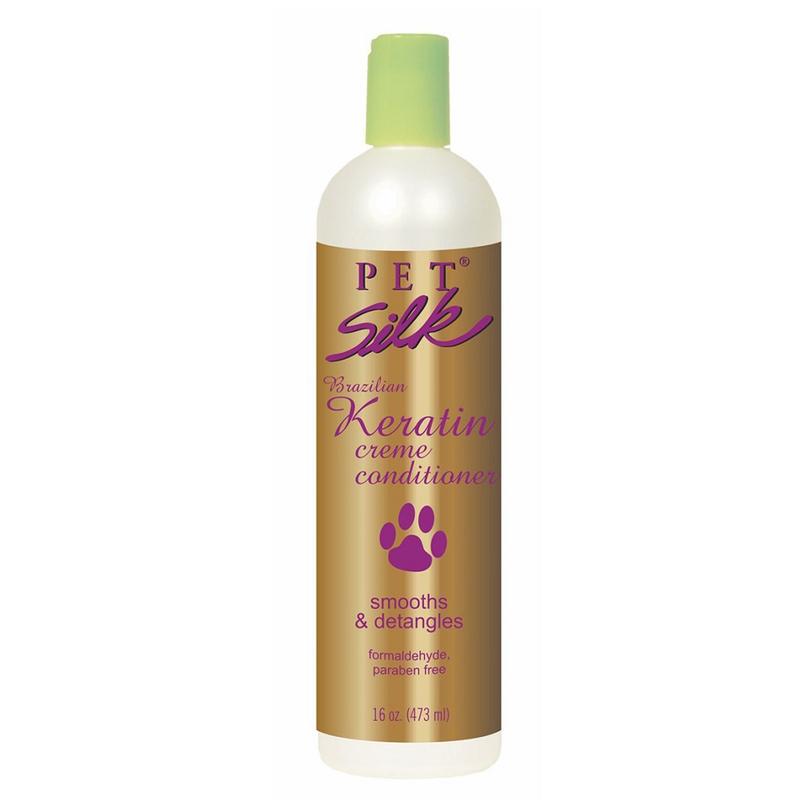 Pet Silk Brazilian Keratin Conditioner - odżywka nawilżająca i wygładzająca włos, z keratyną i jedwabiem