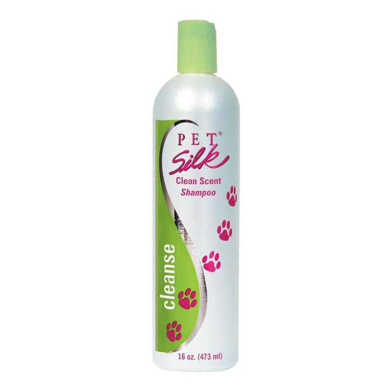 PET SILK Clean Scent Shampoo - uniwersalny szampon oczyszczający i odświeżający szatę